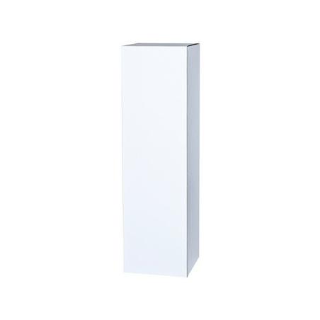 Sockel Pappkarton weiß, 30 x 30 x 60 cm (LxBxH)