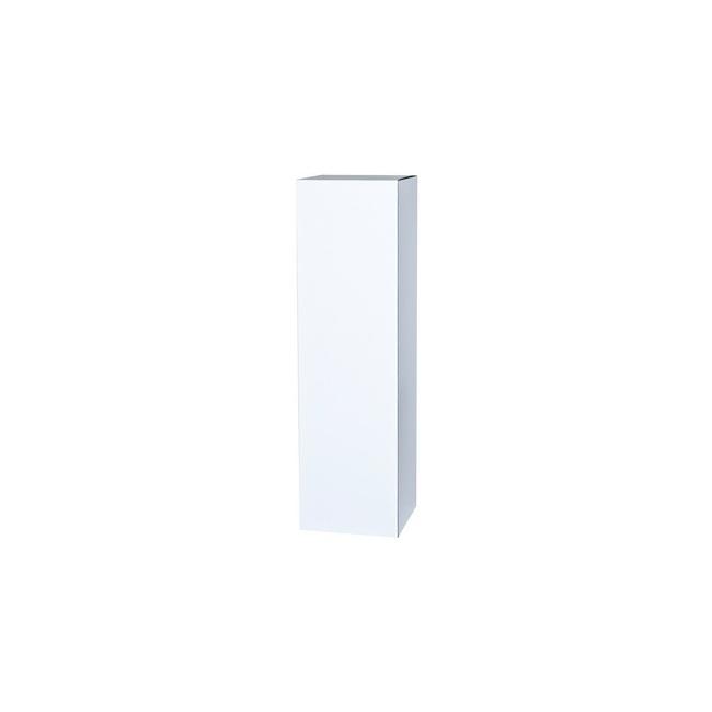 Sockel Pappkarton weiß, 45 x 45 x 100 cm (LxBxH)