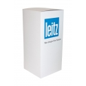 Sockel Pappkarton weiß, 45 x 45 x 80 cm (LxBxH)