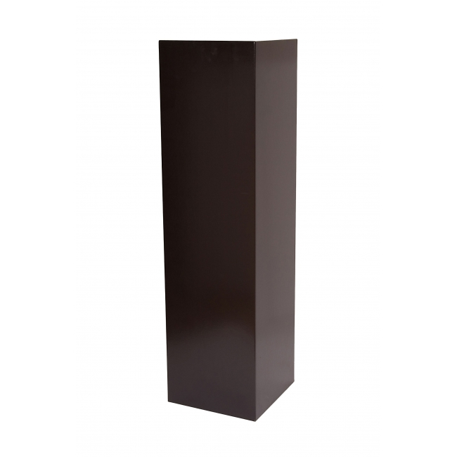 Sockel matt-schwarz (25 x 25 x 115cm LxBxH)