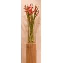 Sockel Eichenholz gehobelt, 25 x 25 x 60 cm (LxBxH)
