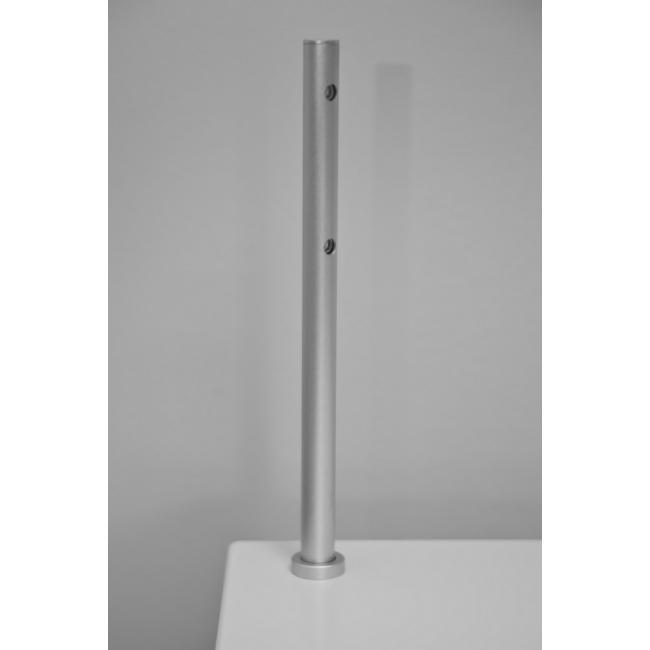 LED-Spot, Type 7, 216 mm, 6000k (kaltweiß), 2x1W, Silber (pro Stück)