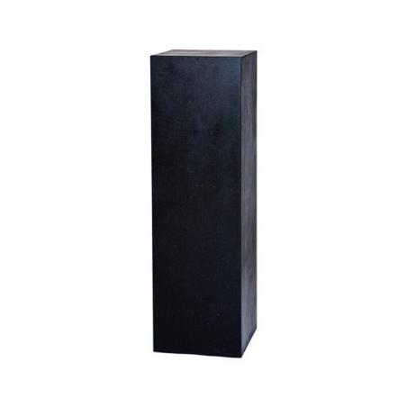 Galeriesockel Stone-Optik, 40 x 40 x 100 cm (LxBxH)