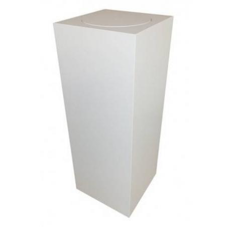 Sockel mit Drehplatte, 40 x 40 x 100 cm (LxBxH)