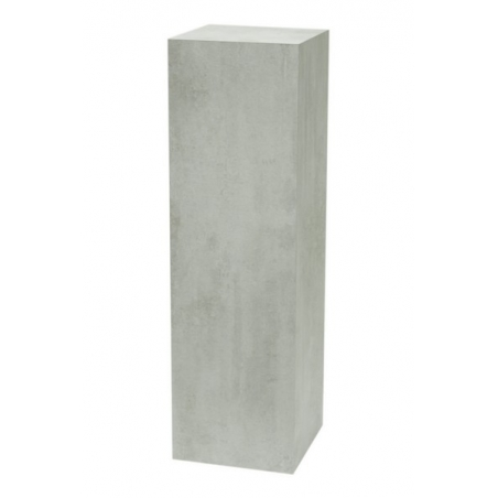 Galeriesockel Beton-Optik, 50 x 50 x 100 cm (LxBxH)