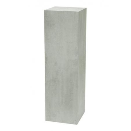 Galeriesockel Beton-Optik, 60 x 60 x 100 cm (LxBxH)
