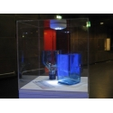Vitrinenhaube aus extra transparentem Acrylglas, 20 x 20 x 20 cm (LxBxH), Kanten poliert & geschliffen