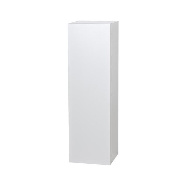 Galeriesockel matt-weiß 25 x 25 x 115 cm (lxbxh)