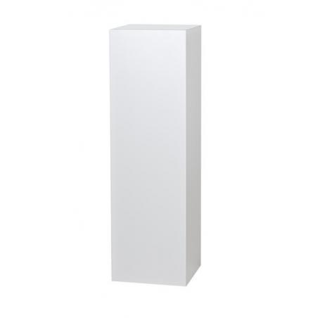 Galeriesockel weiß, 25 x 25 x 115 cm (LxBxH)