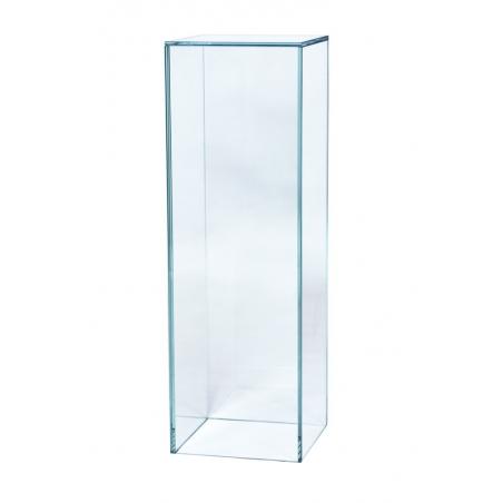 Sockel Glas, 25 x 25 x 80 cm (LxBxH)