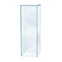 Sockel Glas, 30 x 30 x 100 cm (LxBxH)