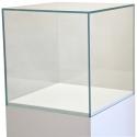 Glashaube, 45 x 45 x 45 cm (LxBxH)