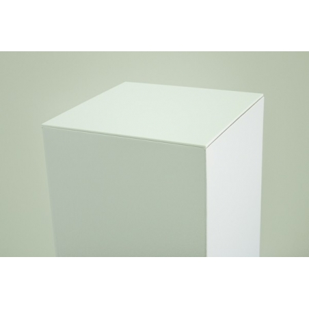 Sockelplatte (4mm Acrylglas weiß), Abmessung 30,2 x 30,2 cm (für Pappkarton-Sockel)