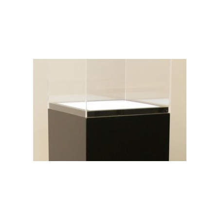 Lichtdurchlässige Acrylplatte (Sockel 40 x 40 cm)