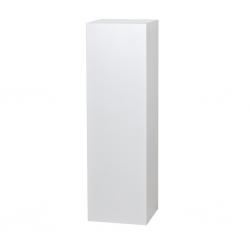 Galeriesockel weiß Glanz, 40 x 40 x 100 cm (LxBxH)