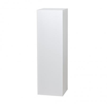 Galeriesockel weiß Glanz, 50 x 50 x 100 cm (LxBxH)