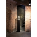 Galeriesockel matt-schwarz, 20 x 20 x 60 cm (LxBxH)
