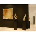 Galeriesockel matt-schwarz, 20 x 20 x 110 cm (LxBxH)