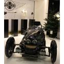Galeriesockel matt-schwarz, 30 x 30 x 30 cm (LxBxH)