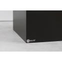 Galeriesockel matt-schwarz, 30 x 30 x 100 cm (LxBxH)