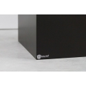 Galeriesockel matt-schwarz, 30 x 30 x 80 cm (LxBxH)