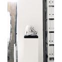 Galeriesockel matt-weiß, 20 x 20 x 60 cm (LxBxH)
