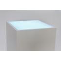 Lichtdurchlässige Acrylplatte (Sockel 35 x 35 cm)