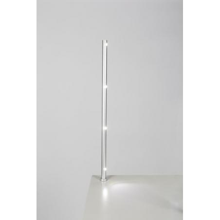 LED-spot, Type 7L, 405 mm, 6000k (kaltweiß), 4x1W, Silver (pro Stück)