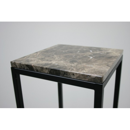 Sockelplatte brauner Marmor (Emparador Dark, 20mm),  30 x 30 cm