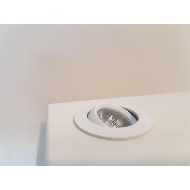 LED-Spot, Typ 8B, Diam. 35mm, 6000k (kaltweiß), 1 Watt, schwarz (pro Stück)