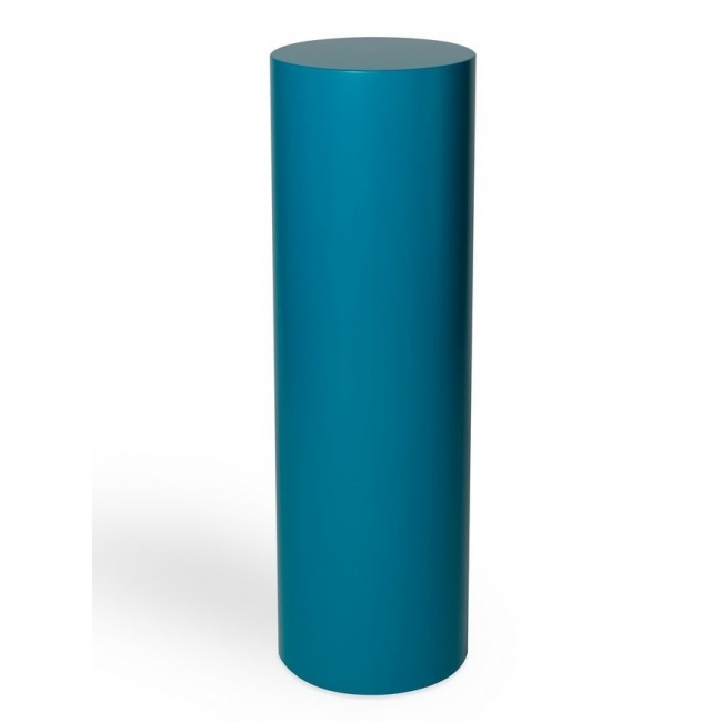 Runder Sockel in gewünschter RAL-Farbe, Ø 25 x 100 cm (H)