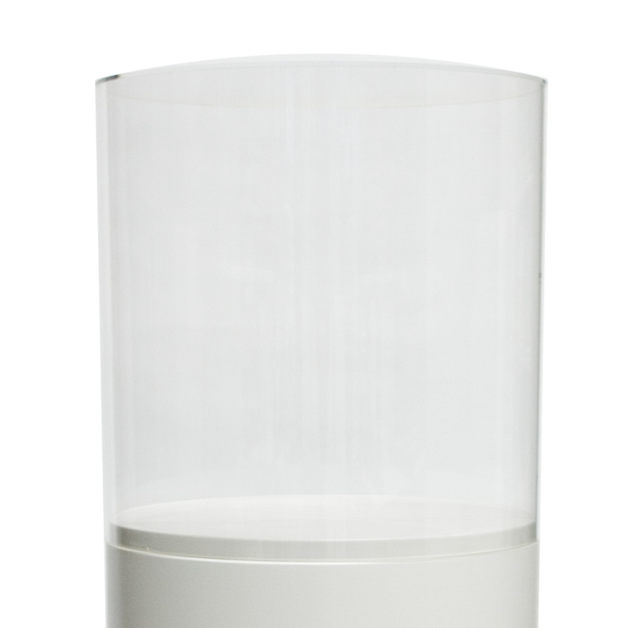 Runde acrylglas schutzkappe