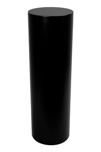 Sockel rund schwarz
