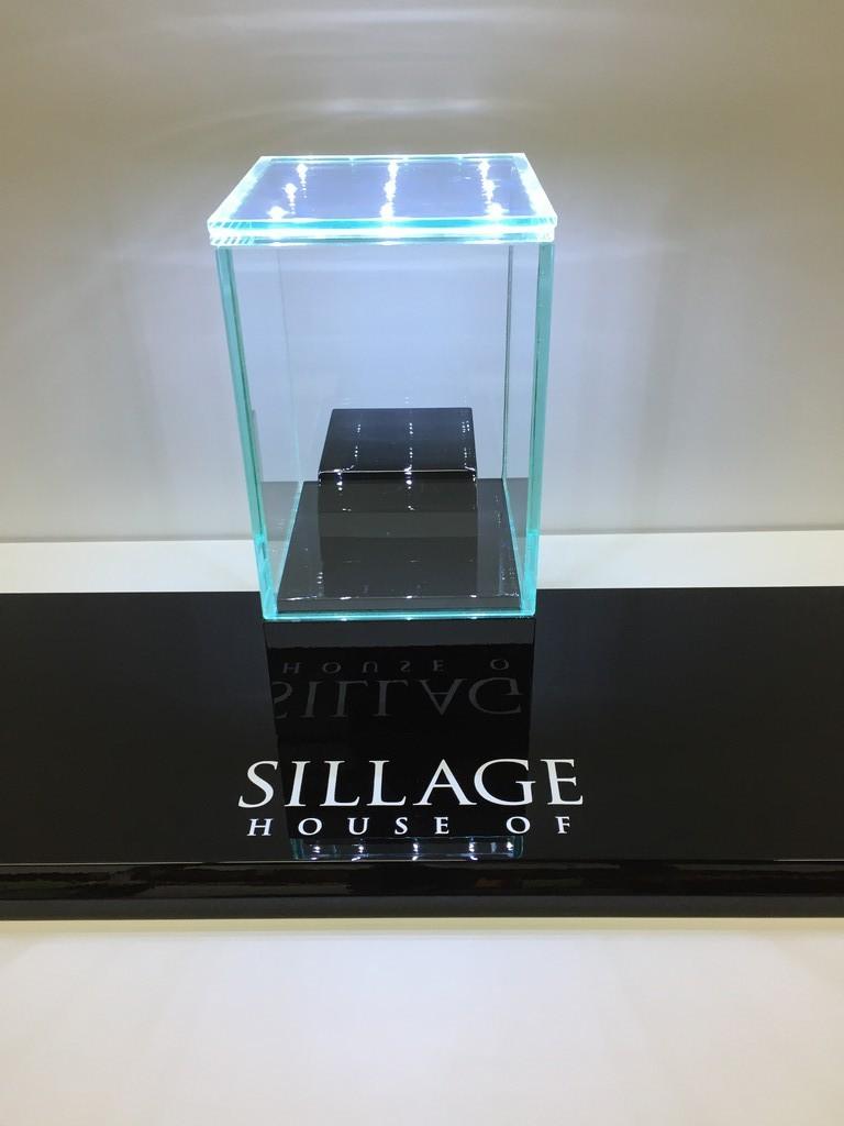 Glashaube mit integrierten led-punkten